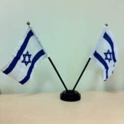 דגלי ישראל לשולחן